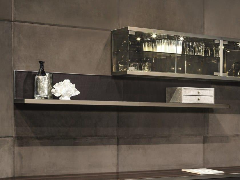 Leather wall shelf COURBET | Wall shelf by Longhi
