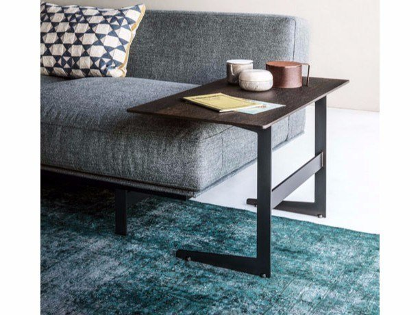 Rectangular side table COURT YARD | Side table by Lema