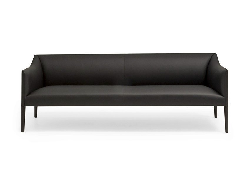 3 seater fabric sofa COUVÉ | 3 seater sofa by Andreu World