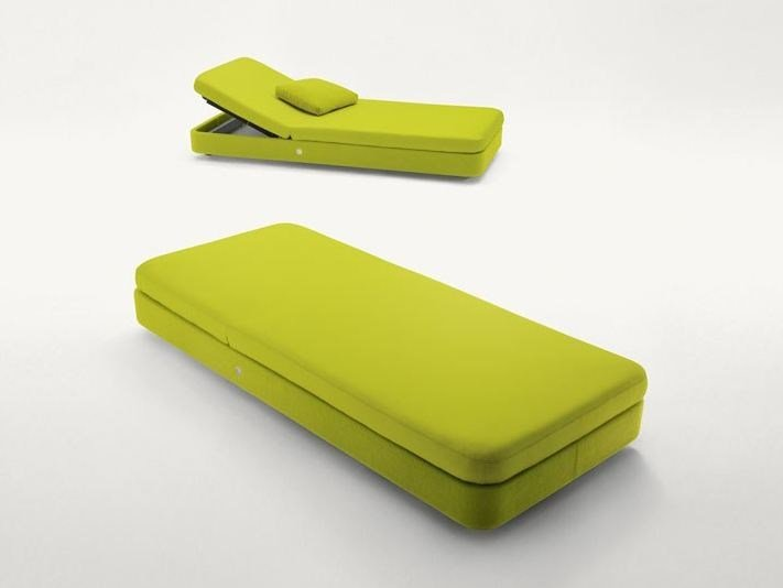 Recliner technical fabric garden daybed COVE | Garden daybed by paola lenti