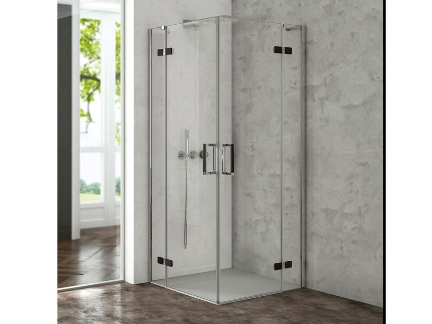 Corner Shower.Corner Shower Cabin With Hinged Door Cover Ab Ab Cover