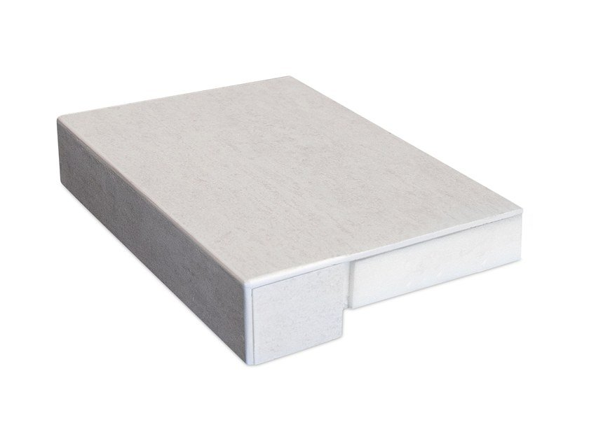 Porcelain stoneware windowsill COVER APP by Cover App