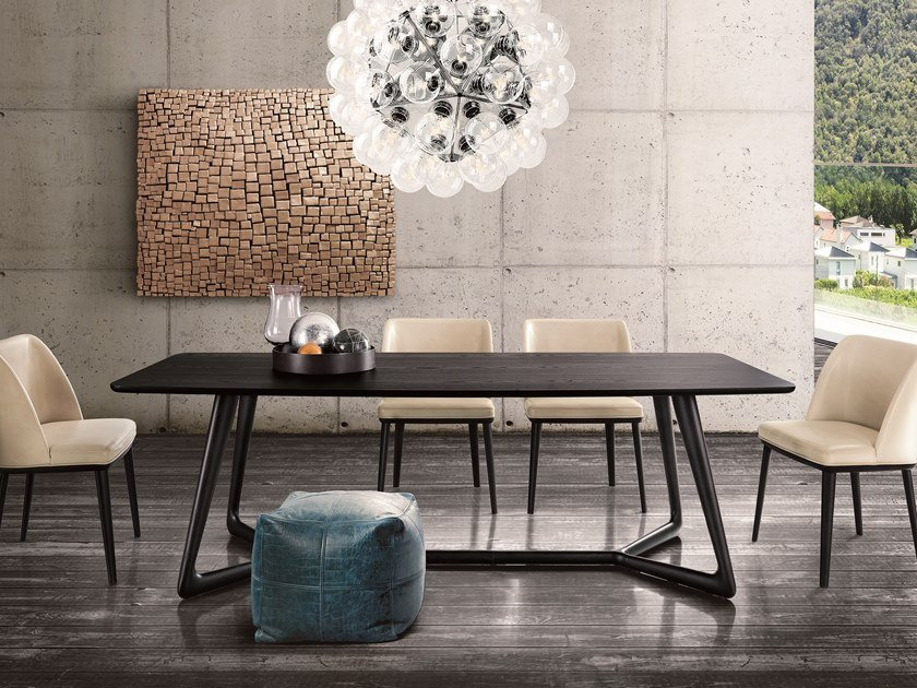 Rectangular dining table COVER | Rectangular table by Pacini & Cappellini