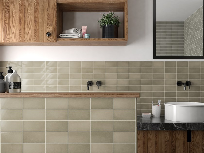 White-paste wall tiles CRACKLE by EQUIPE CERAMICAS