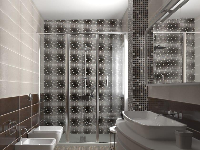 Mosaico in ceramica a pasta bianca CRAK.LÈ | Mosaico by Acquario Due