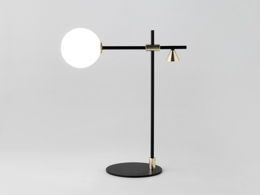 Table lamp with fixed arm CRANE | Table lamp by Aromas del Campo