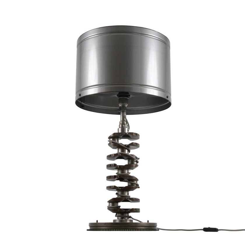 A Fatta Lighting Lampada Da Crankshaft Ottone Mullan Mano In Tavolo D2eWEIY9H