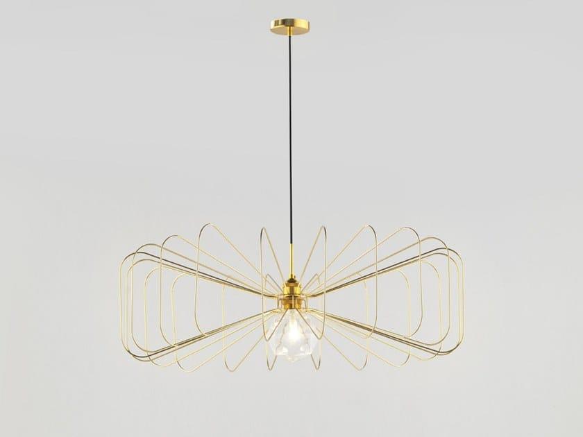 Lampada a sospensione in metallo CRAWFORD by Aromas del Campo