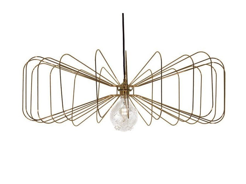 Metal pendant lamp CRAWFORD by Aromas del Campo