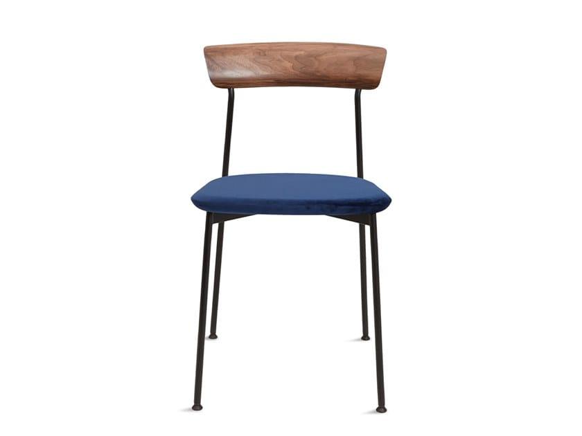 Fabric chair CRAWFORD DINING CHAIR U by STELLAR WORKS