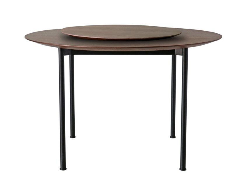 Table With Lazy Susan By Stellar Works