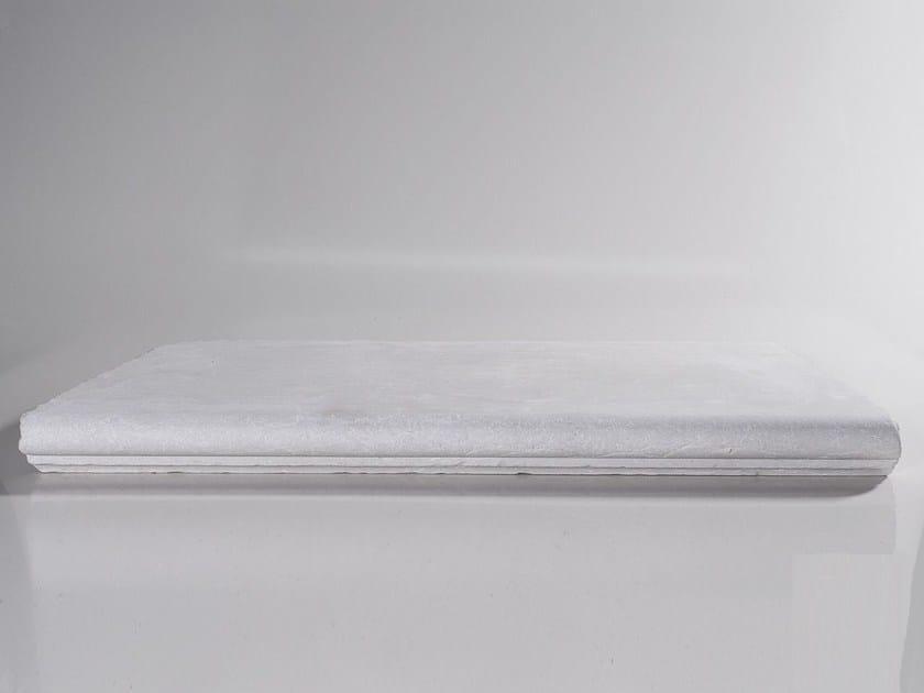 Gradino in pietra con cornice CREAM | Gradino con cornice by TWS