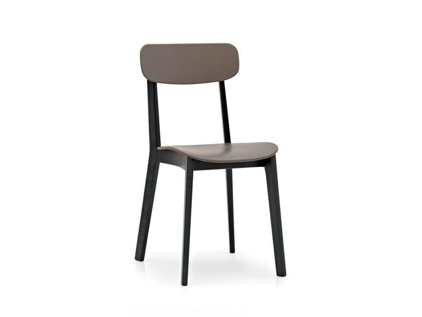Beech chair CREAM | Chair by Calligaris