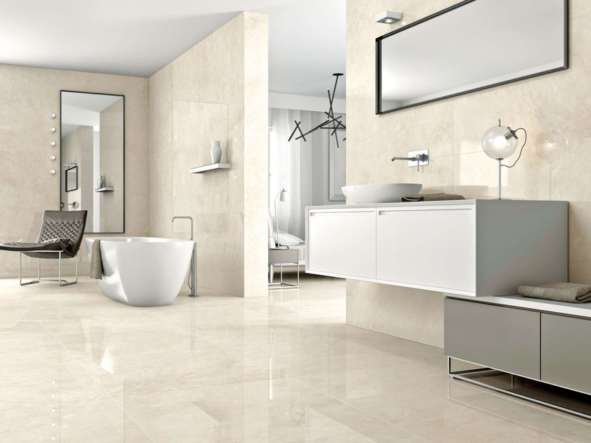 Porcelain Stoneware Wall Tiles Flooring Cream By Museum