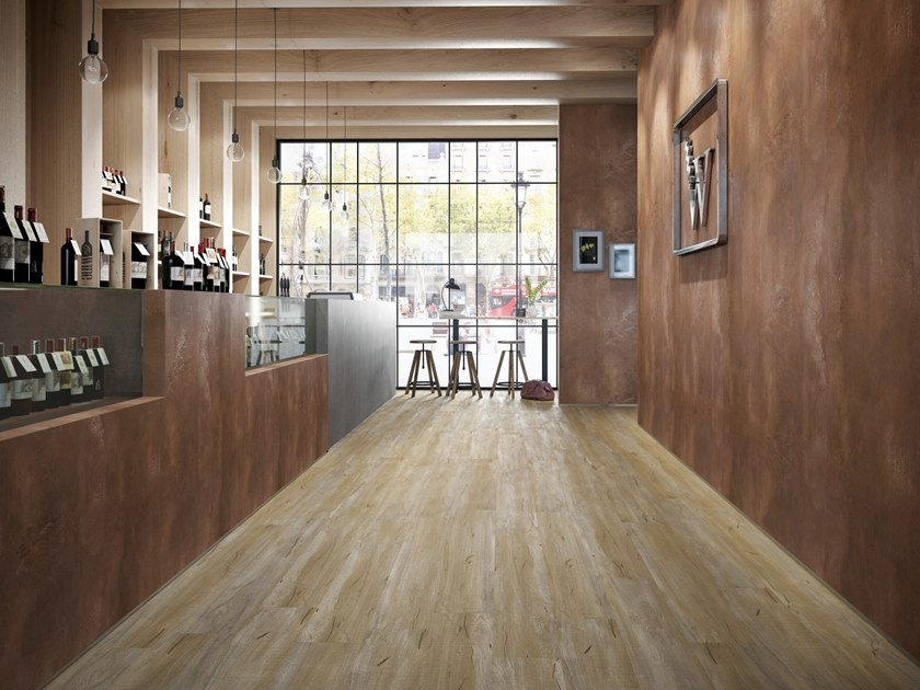 Flooring with wood effect CREATION 70 by gerflor