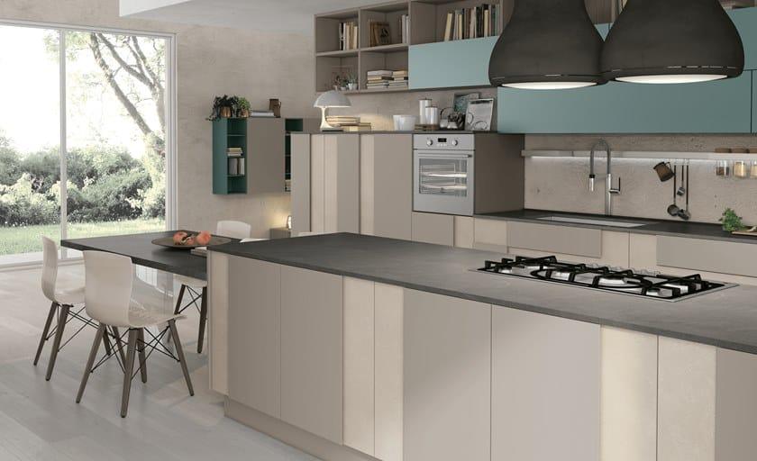 Cucina componibile laccata CREATIVA 2 - Cucine Lube