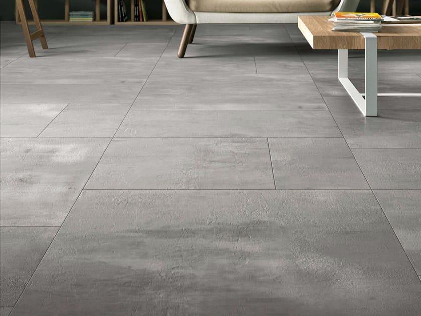 Porcelain stoneware wall/floor tiles with concrete effect CREATIVE CONCRETE DG by Ceramica d'Imola