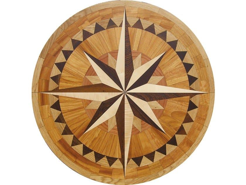 Wooden medallion CREATOR® Laser Rosettes by Garbelotto