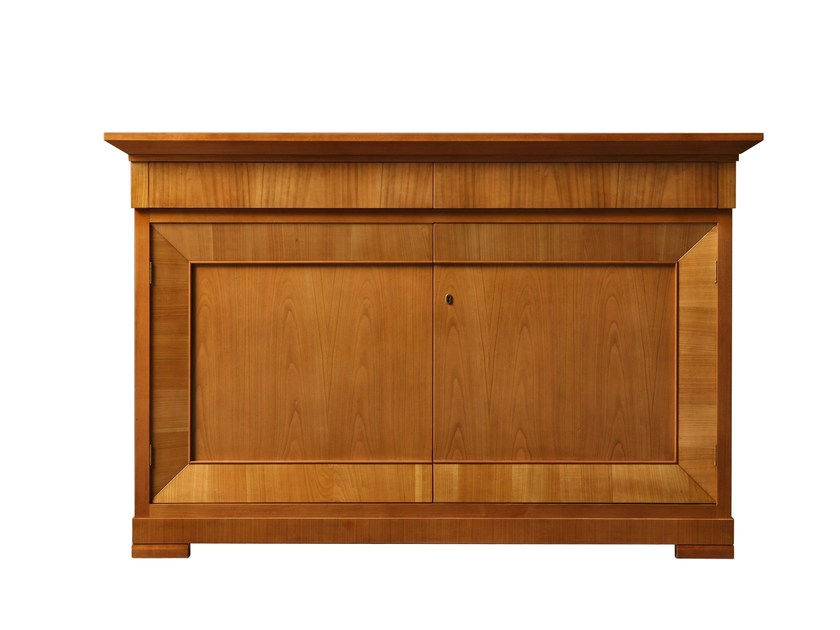 Sideboard with doors BIEDERMEIER | Cherry wood sideboard by Morelato