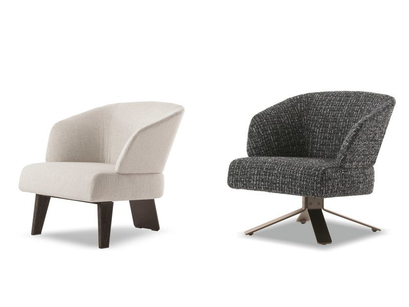 Design Bank Minotti.Easy Chair Creed Small By Minotti