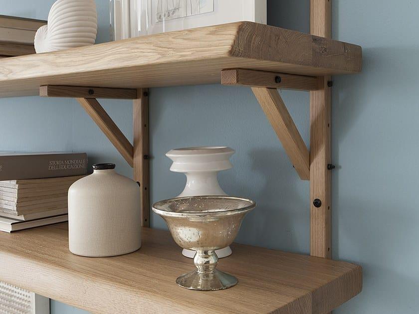 Wooden support for rack CREMAGLIERA REGGIMENSOLA by AltaCorte