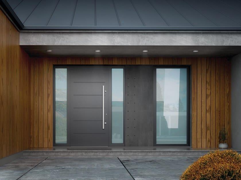 Aluminium entry door CREO by WISNIOWSKI