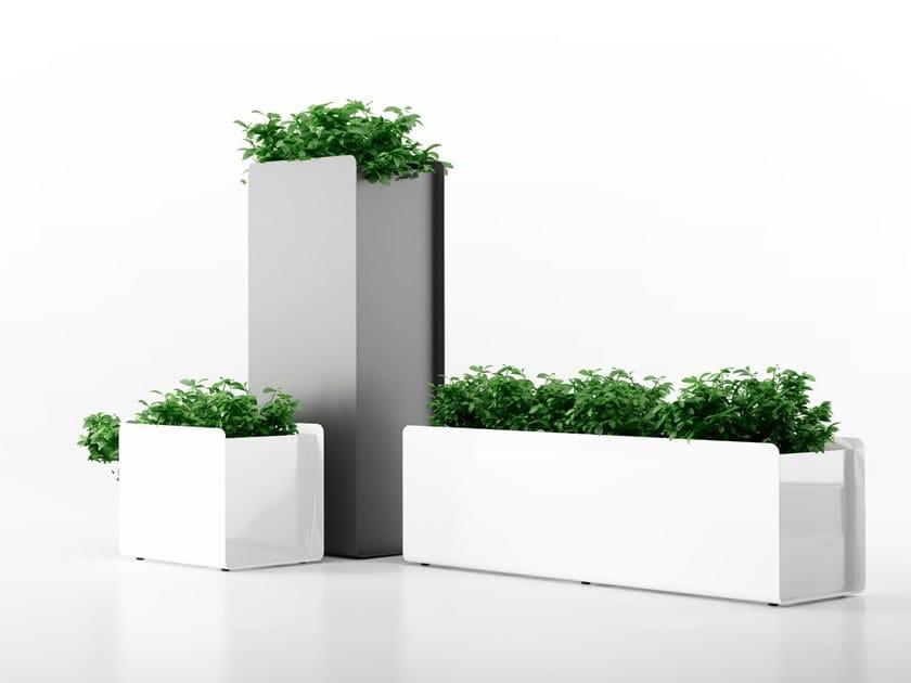 Plantador de alumínio CREPE   Plantador by Systemtronic