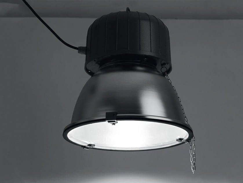Aluminium pendant lamp CRICKET by LANZINI