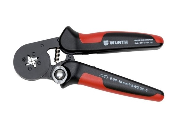 Plier CRIMPING TOOL WITH PARALLEL LOADING by Würth