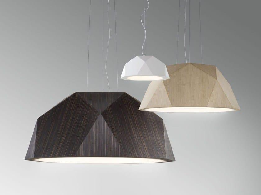 Aluminium pendant lamp CRIO by Fabbian
