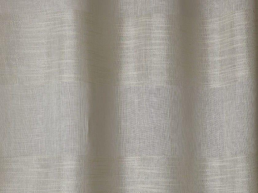 Striped linen fabric CRISPY STRIPES by Dedar