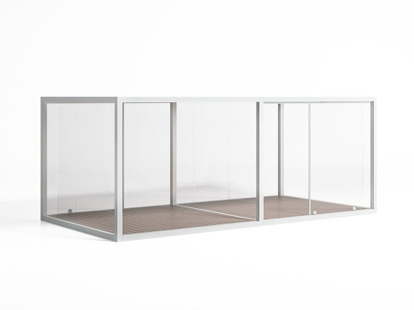 Pergola / conservatory CRISTAL BOX 2 by GANDIA BLASCO