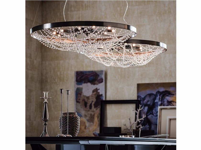 Crystal chandelier CRISTAL by Cattelan Italia