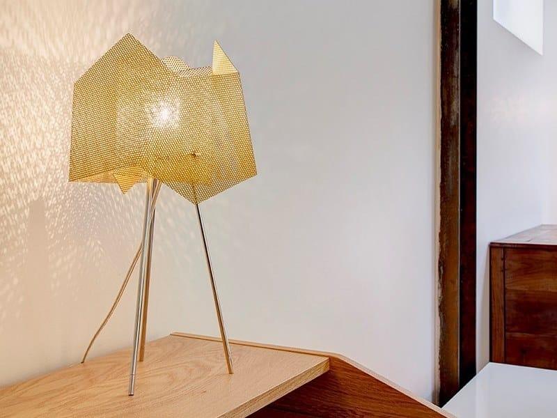 Inox Da Tavolo Acciaio N°34a Lampada Thierry In Design Cristal Vidé vm8OwN0n