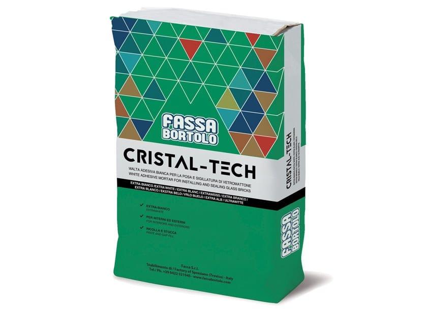 Adesivo cementizio per elementi in vetromattone CRISTAL-TECH by FASSA