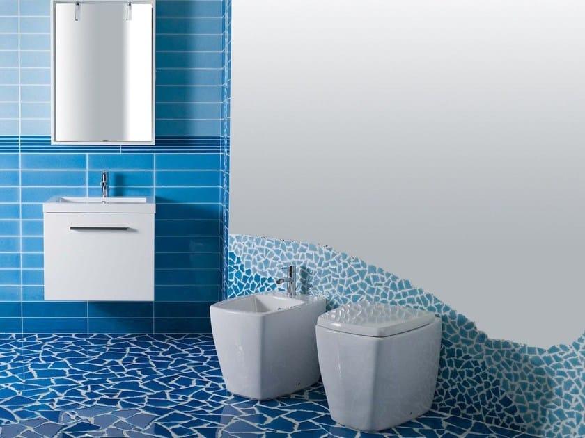 Pavimento/rivestimento per interni CRISTALLI OPUS by Acquario Due