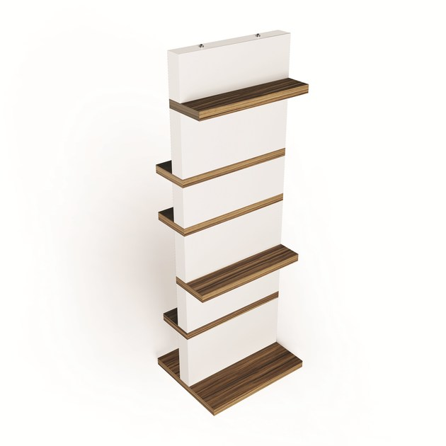 Double-sided bookcase CROMATICA by ARKOF LABODESIGN