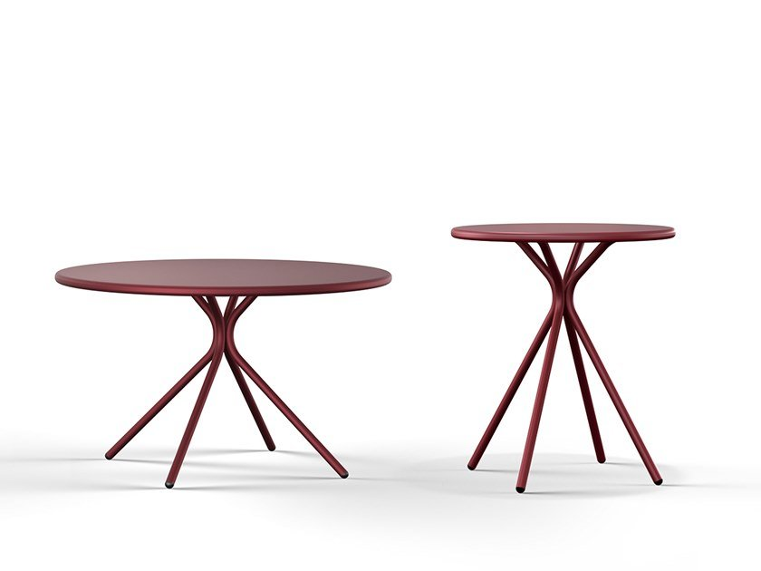Lounge table CRONA STEEL | Side table by Brunner