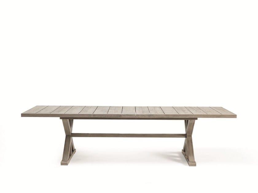 Rectangular teak garden table CRONOS | Rectangular table by Ethimo