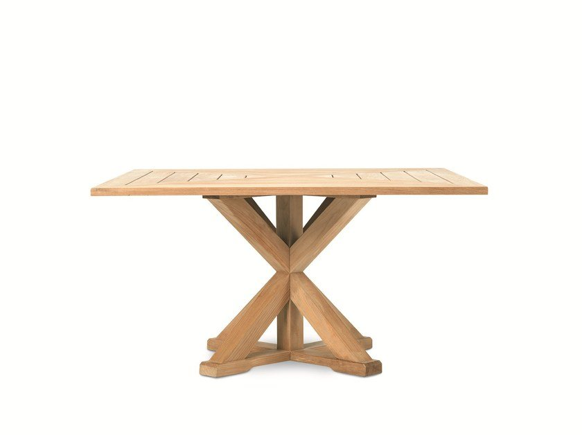 CRONOS | Table carrée By Ethimo