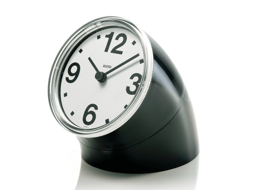 Table-top ABS clock CRONOTIME by Alessi