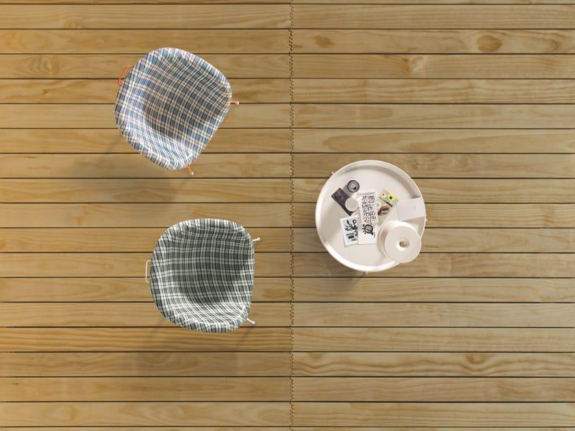 Decking in legno CROSS FINGERS by Listone Giordano