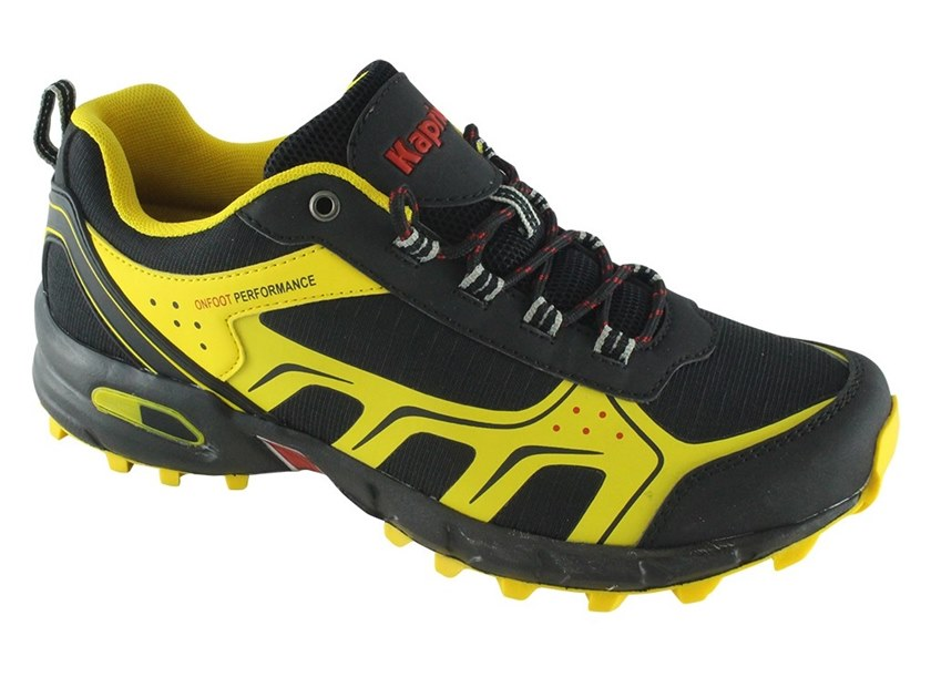 Safety shoes CROSS GIALLO/NERO by KAPRIOL