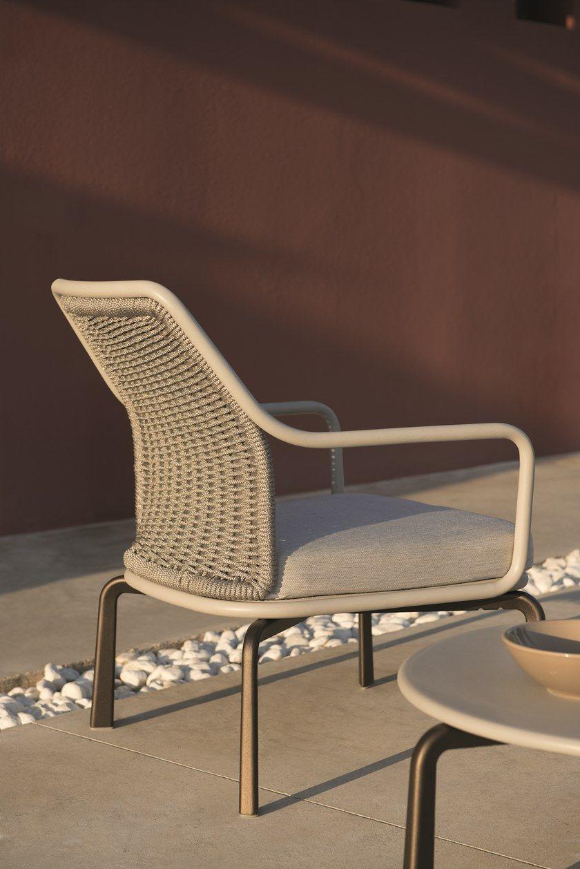 CROSS   Garden armchair Cross Collection By emu