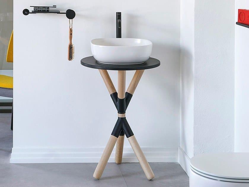 Mobile lavabo da terra CROSS | Mobile lavabo by Scarabeo Ceramiche
