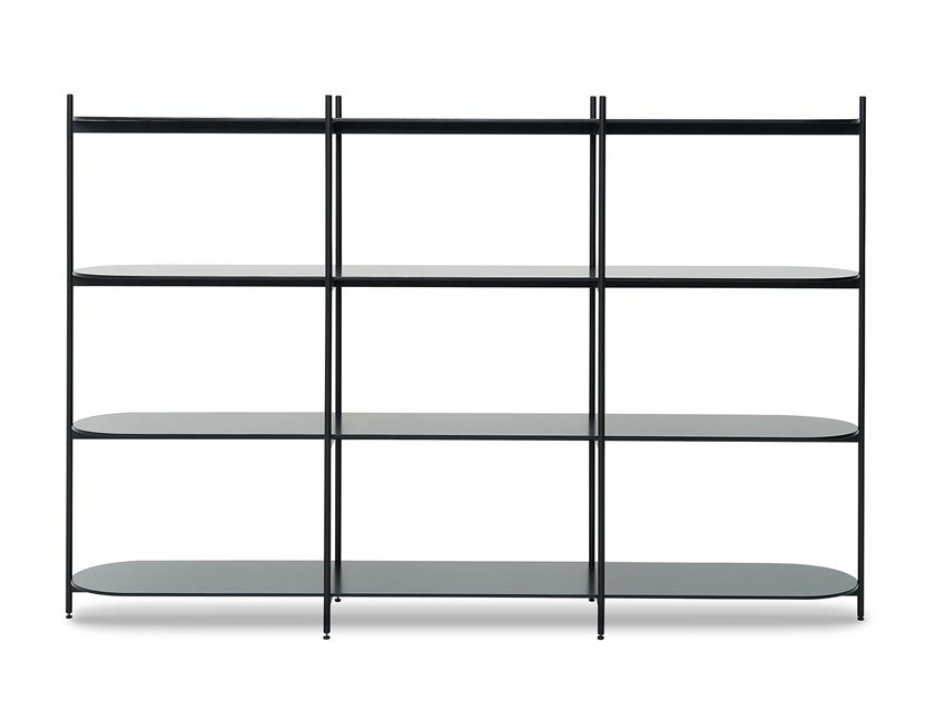 Open modular shelving unit CROSS | Shelving unit by jot.jot