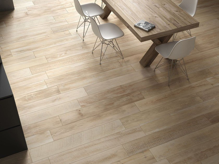 Ceramic flooring with wood effect CROSS WOOD | Flooring by Panaria Ceramica