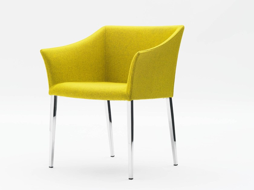 Easy chair with armrests CROSSING by Segis