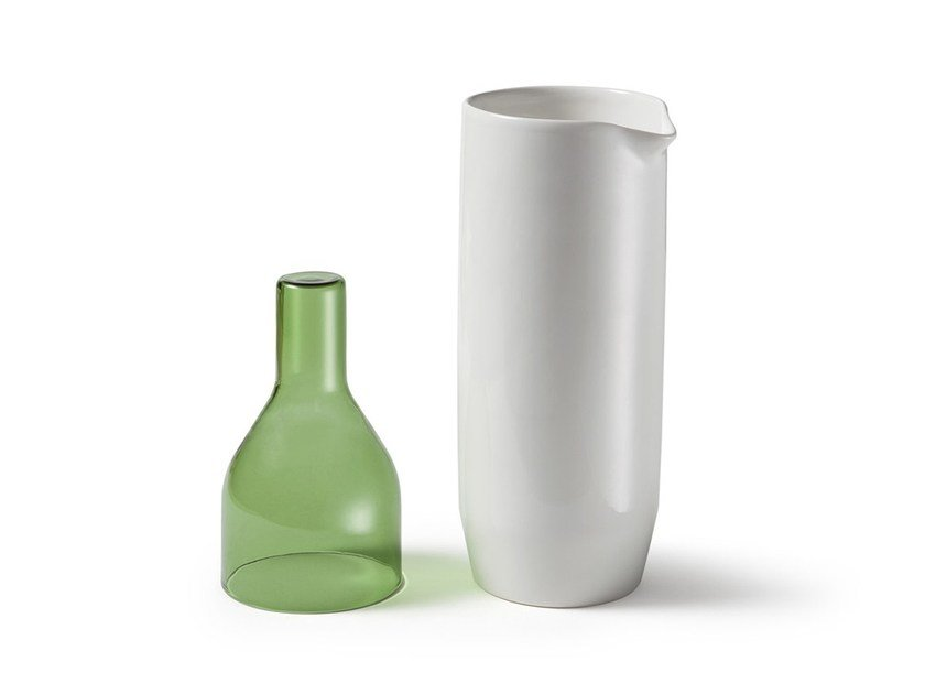 Ceramic jug CRUDO | Jug by Atipico