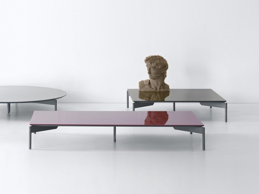 Rectangular coffee table CRUISE | Rectangular coffee table by Lema